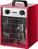 HJM CT005 Chauffage industriel 3300 W Rouge