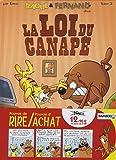 Raoul & Fernand : Pack en 2 volumes : La fureur de vivre ; La loi du canapé de Erroc (10 février 2010) Album
