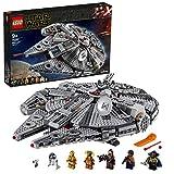 LEGO 75257 Star Wars Faucon Millenium, Set de Construction avec Finn, Chewbacca, Lando, C-3PO, R2-D2, Collection de L'Ascension de Skywalker