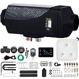 VEVOR Chauffage Diesel 12v 5kw Consommation: 0,11-0,51 (L/h), Interrupteur LCD Télécommande Inclus, Accessoires Complets, pour Camions RV Bateaux