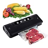 machine sous vide Vide Scellant Machine, Scellant automatique des aliments for Savers alimentaires w / Kit de démarrage | Indicateur LED | Facile à nettoyer | sec et Moist alimentaire Modes |Design co