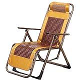 KHL Réglable Mahjong Lounge Chair Déjeuner Pause Multifonction Oreiller Portable Zero Gravity Lounge Chaise Déjeuner Pause Chaise Plage Accueil De Refroidissement Chaise