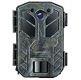 APEMAN Caméra de Chasse 30MP 4K avec Vision Nocturne, Etanchéité IP66 pour la Nature, Le Jardin, la Surveillance et la sécurité de la Maison