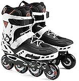 Roller Skates de château adultes - Patins de roue haute performance haute performance pour les débutants et les adolescents, adaptés aux environnements intérieurs et extérieurs Pour les femmes et les
