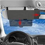 Extension de Pare-Soleil de Voiture,Junzheng Anti-éblouissement Rallonge Pare Soleil Voiture,Protection UV pour Siège Conducteur Ou Passager Avant