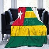 kglkb Couvertures pour Canapé-Lit Couverture De Drapeau du Togo Couverture Thermique Confortable Couverture De Jet Non Rejetée Couverture Épaisse De Jet De Canapé