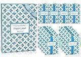 LA BELLEFÉE Sachets Parfumés Lin Frais pour Parfumer Tiroirs Armoires à Linge Placards Meuble à Chaussures Salles de Bain Sent Bon Voiture (10g x 14 Sachets)