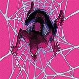 Amacigana Spider Man Drap-housse en jersey microfibre et élasthanne pour lit à sommier tapissier 140 x 200 cm - 180 g/m²