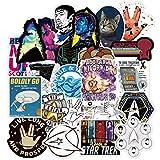 JIAQI Star Trek Space Cartoon Graffiti Autocollant pour Bagages De Voiture Guaitar Planche À roulettes Téléphone Portable DIY Vélo Stickers Autocollants 70 Pcs