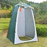 aheadad Portable Pop Up Tente de confidentialité Camping Tente de Douche Cabine de Douche Vestiaire Armoire à Langer Camping Abri extérieur pour Les Voyages de randonnée en Plein air
