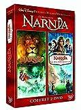 Le monde de Narnia chapitre 1 : le lion, la sorcière blanche et l'armoire magique + Le monde de Narnia chapitre 2 : Le prince Caspian - Coffret 2 DVD