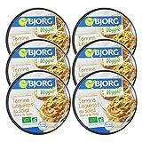 Bjorg Terrine Bio aux Légumes du Soleil – Recette Veggie – 125 g – Lot de 6