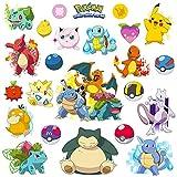 BABUABBOTT Stickers Muraux Pokémon, Adaptés Aux Bébés, Aux Enfants, à La Maternelle, à La Chambre à Coucher, Au Salon, à La Maternelle [ B, 45x105CM ]