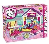 Unico - 8668 Hello Kitty - Jeu de Construction, école, 89 pièces