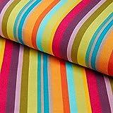 Fabulous Fabrics Tissu de décoration extérieur Chaise Longue Uni, 44 cm — Vendu au mètre à 0,5m — pour Coudre Décoration, Chaises et Garnitures de Chaise