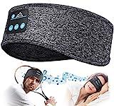 Bandeau Bluetooth Cadeau Homme Femme - Cadeau Homme Original Bandeau Écouteur de Musique Masque de Nuit, Idee Cadeau Femme Bandeau Bluetooth Dormir Masque Yeux, Cadeau Noel Bandeau Masque de Sommeil