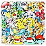 shihe Ne Pas répéter Pokemon Dessin animé Autocollant Bagages Ordinateur Portable Voiture Autocollants décoratifs 50 Feuilles