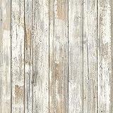 Hode Papier adhésif pour Meuble Bois Armoire Vinyle Décoratif Papier Peint Autocollant pour Placard Tiroir 45X200cm