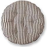 DFGH Chaise Ronde Coussin Cravate avec Salle à Manger Coussin Chaise Cuisine Tissu épais Jardin Cravate en Coussin carré Siège Confortable à Manger Chaise Coussin 45 * 45cm (Color : A)