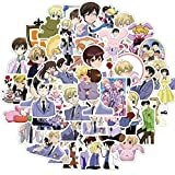 shihe Ouran High School Host Club Anime Sticker Laptop Guitar Waterproof Sticker Doodle Stickers Kids Classic Toys 50 Pcs
