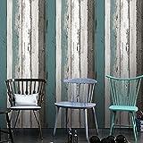 Panneau de bois décoratifs Motif Contact papier autocollant Shelf Liner Peel et bâton papier peint haute qualité pour meuble de cuisine Countertop étagères projets d'artisanat 60 x 300 cm