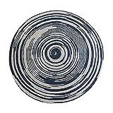 WJY Tissu À La Main en Jute Tapis Rond Salon Table Basse Etude Moquette Chambre Table De Chevet Et Coussin De Chaise (Peut Être Personnalisé) (Color : ZRL-003, Size : 120cm)