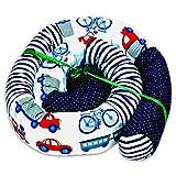 contour de lit bébé patchwork - tour de lit bébé protection lit bebe serpent de lit boudin lit tour de lit nuage Modèle de voiture 210 cm