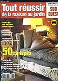 TOUR REUSSIR DE LA MAISON AU JARDIN N° 6 OCTOBRE 2005. SOMMAIRE: UNE ANCIENNE FERME RENOVEE, LES NOUVELLES CHEMINEE, RESTAURE DES CHAISES...