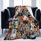 Juliana Maciel Couvertures chaudes pour femmes, pour canapé, lit, salon, décoration d'intérieur durable, couverture en flanelle pour adultes et enfants