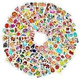 HOWAF 1000+ Animaux Fruits Légumes Autocollants 3D pour Enfant Fille Garcon Artisanat, 48 Feuilles Autocollants Gommettes Stickers pour Enfant Bricolage Scrapbooking Récompense Cadeaux