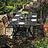 2 Tables Sophia et 12 chaises Rose