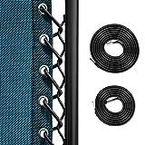 Keten Remplacement Corde, 4 Lacets Elastiques Pour Chaise Zéro-Gravité