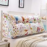 Grande Triangulaire Coussin Cale, Dossier De Lit Tête De Lit Canapé Chaise Coussin Soutenir Reading Wedge Pillow pour Chaise Canapé Salon -i 90x20x50cm(35x8x20)