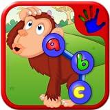 Préscolaire ABC Zoo Animal Connect le casse-tête de la Dot - enseigne chiffres lettres et formes adapté aux jeunes enfants et les jeunes enfants