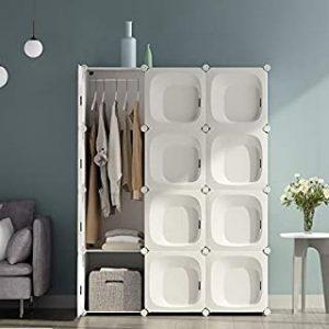 ▷ Liste d'armoire penderie en tissu à acheter en ligne - Les plus demandés 【2021】