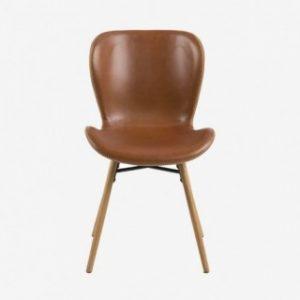 ▷ Catalogue à acheter en ligne chaise cuir marron fly - Les 30 meilleures ventes 【2021】