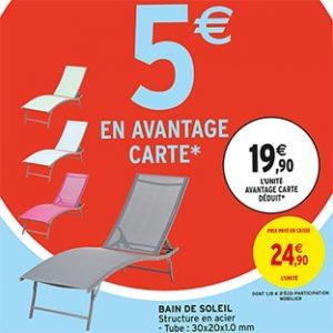 ▷ Catalogue à acheter en ligne chaise longue jardin intermarche - Le Top 30 【2021】