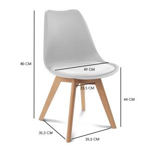 ▷ Commentaires de chaise bicolore gris et blanc à acheter en ligne - Le meilleur 【2021】