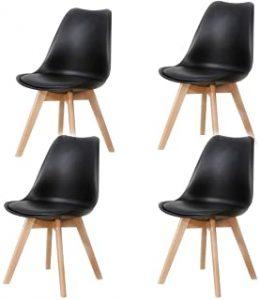 ▷ La meilleure sélection de chaise pied bois assise simili cuir à acheter en ligne - Les favoris 【2021】