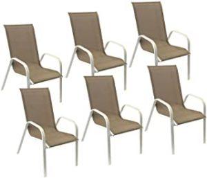 ▷ Liste des chaise jardin aluminium textilene couleur à acheter en ligne - Les plus demandés 【2021】