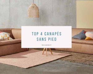 ▷ Canapé bas sans pied pour acheter en ligne - les favoris 【2021】