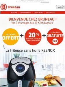 ▷ Friteuse sans huile bruneau disponible à l'achat en ligne - Le Top 30 【2021】