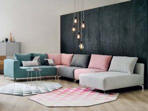 ▷ La meilleure liste de canapé modulable multicolore à acheter en ligne - les 30 plus demandés 【2021】
