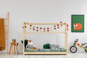 ▷ Liste de lit cabane 60x120 avec barriere pour acheter en ligne - favoris des clients 【2021】