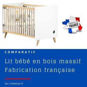 ▷ Lit bebe bois massif fabrication francaise disponible à l'achat en ligne - favoris 【2021】